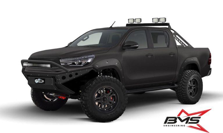 дизайн для автомобиля Toyota Hilux